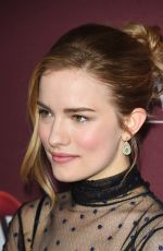 WILLA FITZGERALD at Little Women Photocall at Langham Hotel in Pasadena 01/16/2018