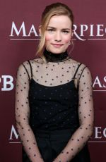 WILLA FITZGERALD at Little Women Show Panel at TCA Winter Press Tour in Los Angeles 01/16/2018
