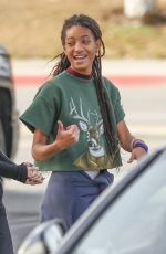 WILLOW SMITH Out and About in Calabasas 01/15/2018