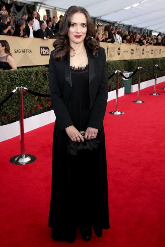 WINONA RYDER at Screen Actors Guild Awards 2018 in Los Angeles 01/21/2018