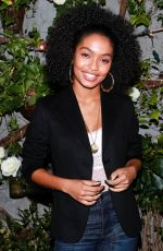 YARA SHAHIDI at Aeriereal Role Models Dinner Party in New York 01/25/2018