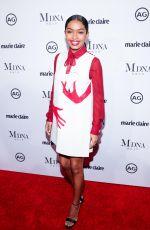 YARA SHAHIDI at Marie Claire Image Makers Awards in Los Angeles 01/11/2018