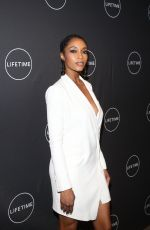 YAYA DACOSTA at Faith Under Fire the Antoinette Tuff Story Premiere in New York 01/23/2018