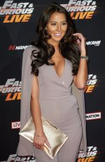 YAZMIN OUKHELLOU at Fast and Furious Live at O2 Arena in London 01/19/2018