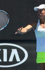 YULIA PUTINTSEVA at Australian Open Tennis Tournament in Melbourne 01/18/2018