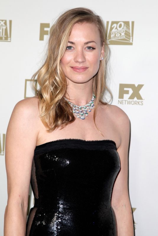 YVONNE STRAHOVSKI at Fox, FX and Hulu 2018 Golden Globe Awards After-party in Beverly Hills 01/07/2018