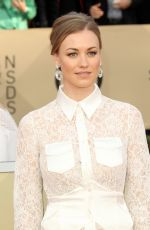 YVONNE STRAHOVSKI at Screen Actors Guild Awards 2018 in Los Angeles 01/21/2018