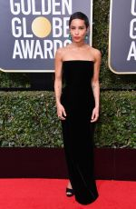 ZOE KRAVITZ at 75th Annual Golden Globe Awards in Beverly Hills 01/07/2018
