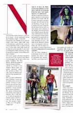 ZOE SALDANA in Vanity Fair Magazine, Italy February 2018 Issue