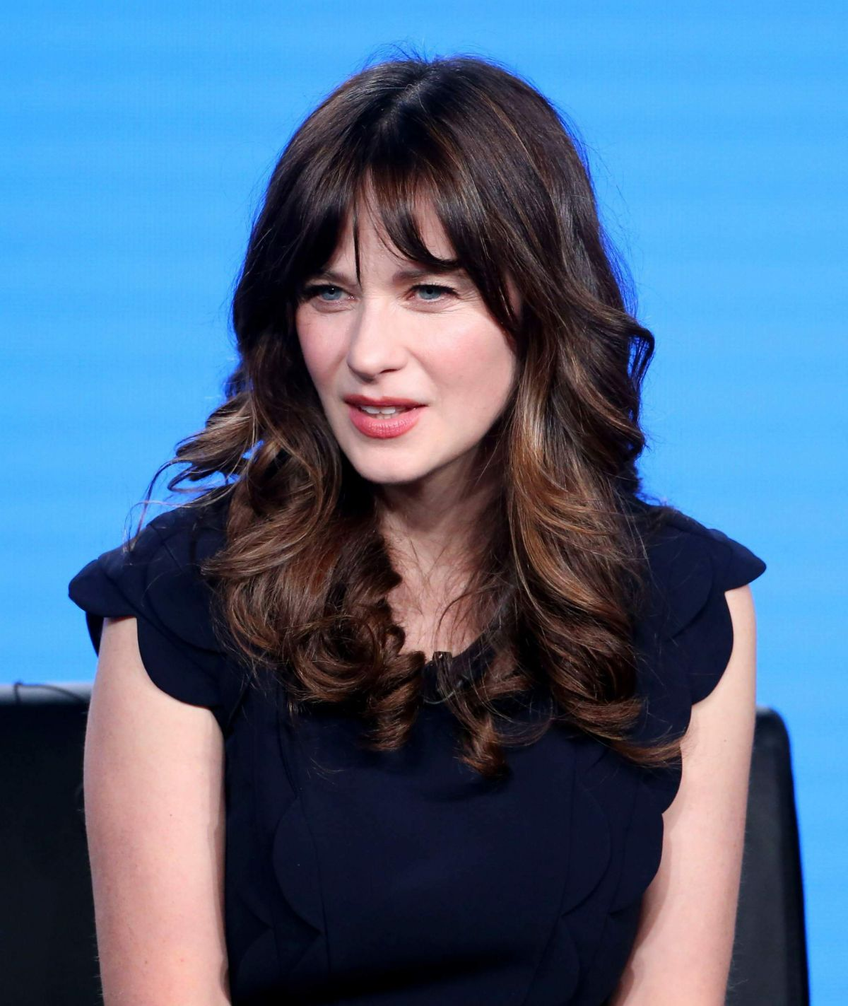 Zooey Deschanel At New Girl Tv Show Panel At In Los