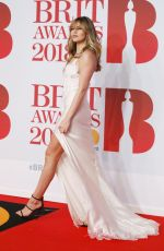 ABIGAIL ABBEY CLANCY at Brit Awards 2018 in London 02/21/2018