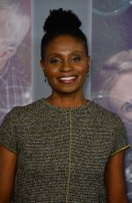 ADINA PORTER at Here and Now Premiere in Los Angeles 02/05/2018