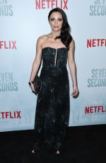 ADRIANA DEMEO at Seven Seconds Premiere in Los Angeles 02/23/2018