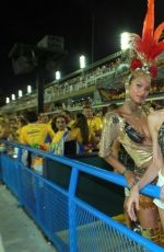 ADRIANA LIMA and LAIS RIBEIRO at Carnaval Holidays in Rio De Janeiro 02/11/2018