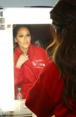 ADRIENNE BAILON at Go Red for Women Red Dress Collection 2018 Presented by Macy
