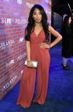 ADRIYAN RAE at Atlanta TV Show Premiere in Los Angeles 02/19/2018