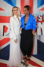 ALESHA DIXON and AMANDA HOLDEN at Britain