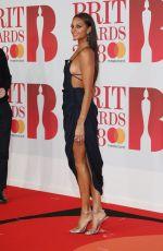 ALESHA DIXON at Brit Awards 2018 in London 02/21/2018
