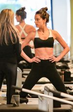 ALESSANDRA AMBROSIO at a Gym in Brentwood 02/08/2018
