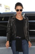 ALESSANDRA AMBROSIO at Los Angeles International Airport 02/02/2018