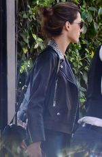 ALESSANDRA AMBROSIO Leaves Her House in Brentwood 02/02/2018