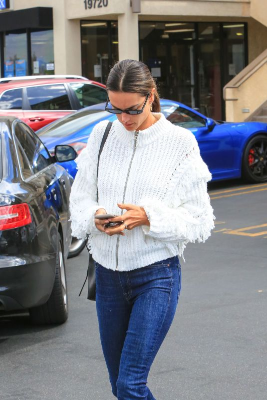 ALESSANDRA AMBROSIO Out and About in Los Angeles 02/22/2018