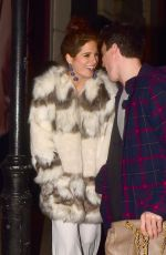 ALEXANDRA BINKY FELSTEAD at Valentine's Party at Libertine Nightclub in London 02/08/2018