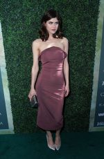 ALEXANDRA DADDARIO at CFDA, Variety and WWD Runway to Red Carpet Luncheon in Los Angeles 02/20/2018