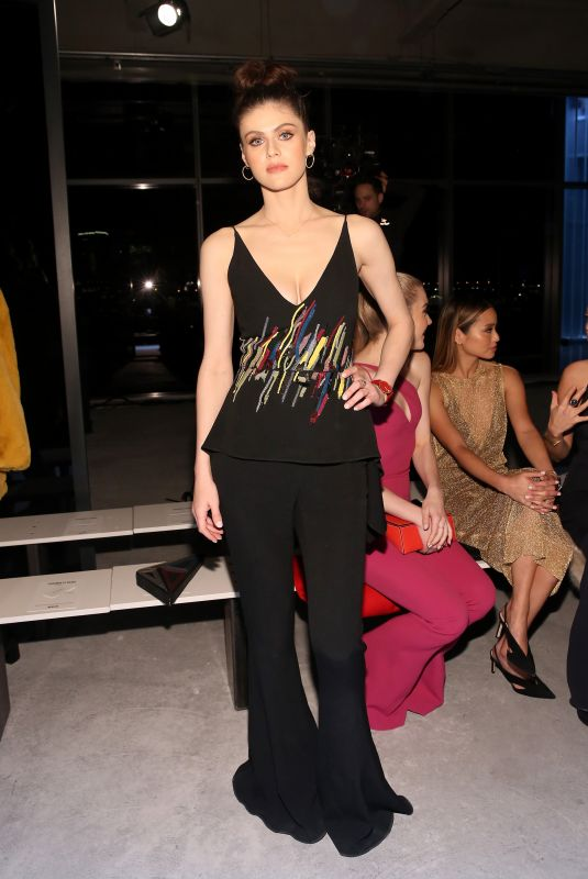 ALEXANDRA DADDARIO at Cushnie et Ochs Show at New York Fashion Week 02/09/2018