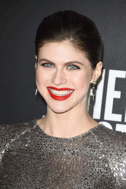ALEXANDRA DADDARIO at When We First Met Screening in Los Angeles 02/20/2018