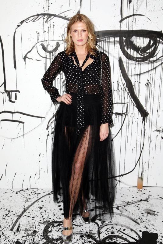 ALEXANDRA RICHARDS at Dior Collection Launch Party at Spring/Summer 2018 New York Fashion Week 02/06/2018