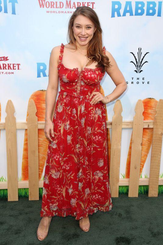 ALEXANDRA VINO at Peter Rabbit Premiere in Los Angeles 02/03/2018