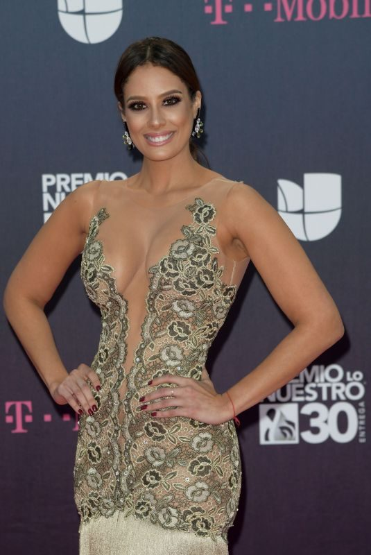 ALEYDA ORTIZ at Premio Lo Nuestro Awards 2018 in Miami 02/22/2018
