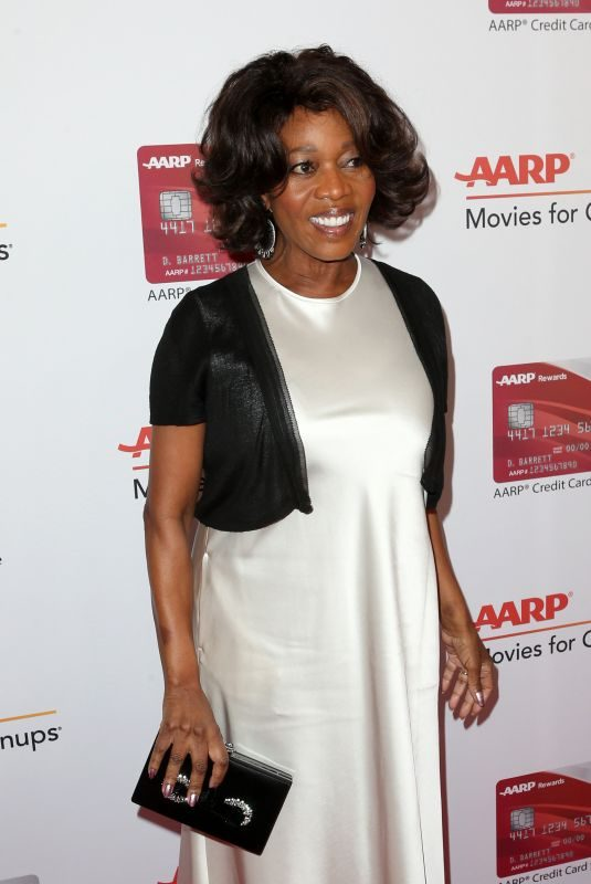 ALFRE WOODARD at Aarp Magazine's Movies for Grownups Awards in Los Angeles 02/05/2018