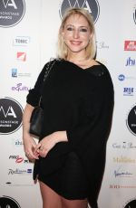 ALI BASTIAN at Whatsonstage Awards in London 02/25/2018
