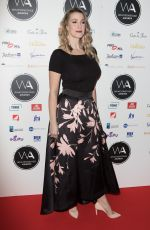 ALICE FEARN at Whatsonstage Awards in London 02/25/2018