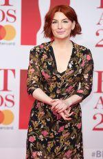 ALICE LEVINE at Brit Awards 2018 in London 02/21/2018