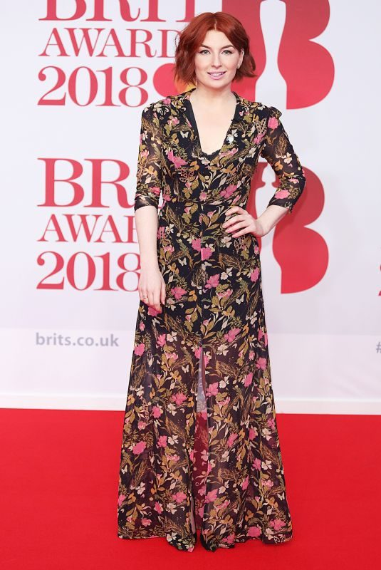 ALICE LEVINE at Brit Awards 2018 in London 02/21/2018