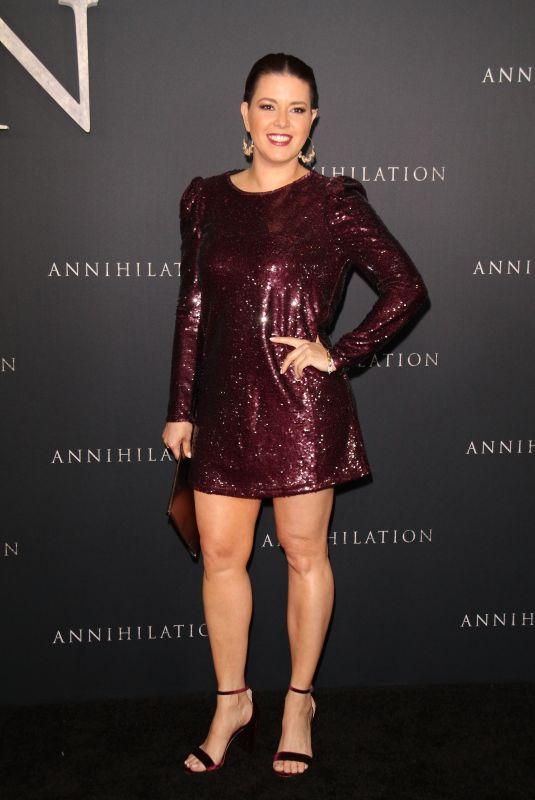 ALICIA MACHADO at Annihilation Premiere in Los Angeles 02/13/2018