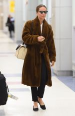 ALICIA VIKANDER Arrives at JFK Airport in New York 02/20/2018