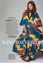 ALICIA VIKANDER in Io Donna Del Corriere Della Sera, February 2018