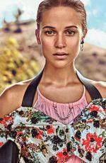 ALICIA VIKANDER in Vogue Magazine, March 2018