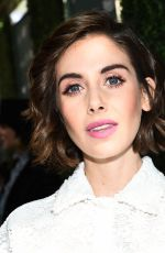 ALISON BRIE at CFDA, Variety and WWD Runway to Red Carpet Luncheon in Los Angeles 02/20/2018