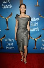 ALISON BRIE at Writers Guild Awards 2018 in Beverly Hills 02/11/2018