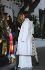 ALISON BRIE Leaves CFDA Luncheon at Chateau Marmont in Los Angeles 02/20/2018