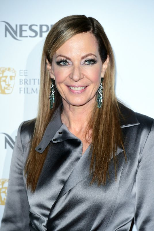 ALLISON JANNEY at Bafta Nominees Party in London 02/17/2018
