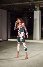 ALUNAGEORGE Performs at Cushnie et Ochs Fashion Show at 2017 New York Fashion Week 02/10/2017