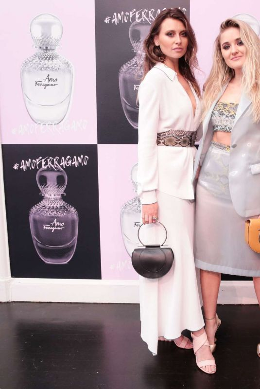 ALY and AJ MICHALKA at Amo Ferragamo Hosted by Suki Waterhouse at New York Fashion Week 02/06/2018