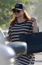 ALYSON HANNIGAN Out and About in Hollywood 02/06/2018