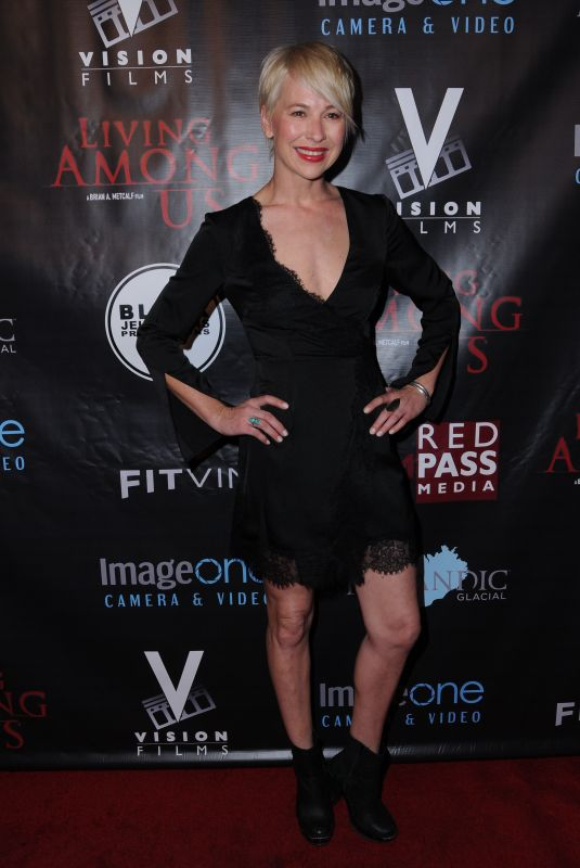 AMANDA RAU at Living Among Us Premiere in Los Angeles 02/01/2018